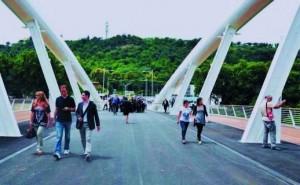 Il nuovo ponte della Musico