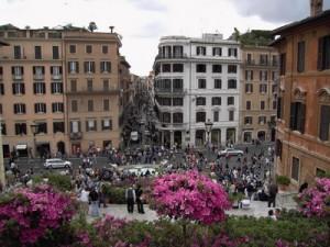 Vacanza a Roma a settembre, shopping in Via Condotti