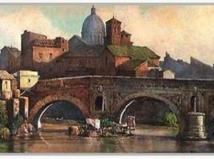 Trastevere, un rione al di là del fiume.